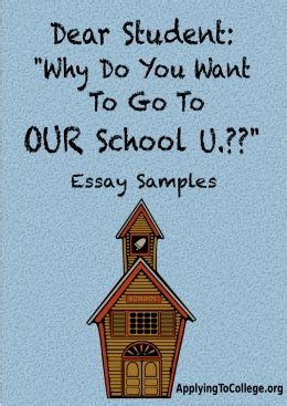 Essay why go to